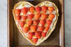 Strawberry, Ricotta and Lemon Tart