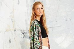 Native Rose Maxi Kimono at Urban Outfitters