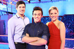 Vernon Kay, Tom Daley & Gabby Logan / Credit: ITV