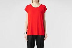 The Alisee T-shirt in Geranium at AllSaints