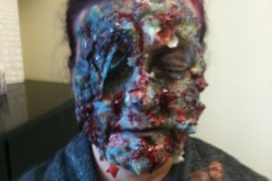Halloween Make-up tutorial: Zombie