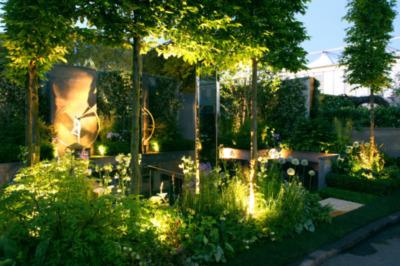 Garden Lights Uk Designing successful small gardens lighting the basic dos and donts money speaks volumes with garden lighting and paying for a good light fitting such as those made by hunza collingwood or aurora will return dividends in sisterspd