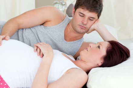 partner wont have with pregnant what