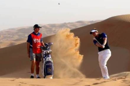 Luke Donald Tackle World's Biggest Bunker - Getty Images