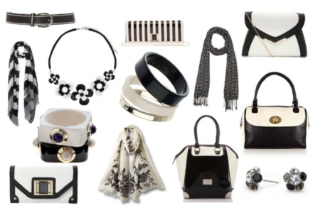 Shop the must have monochrome accessories now