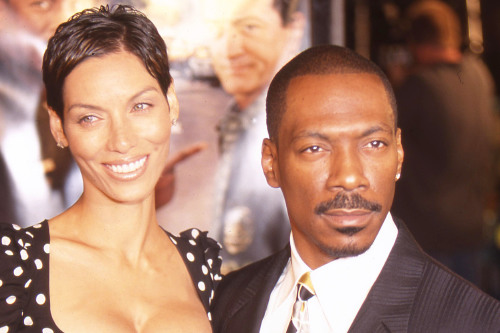 Eddie Murphy and Nicole Mitchell