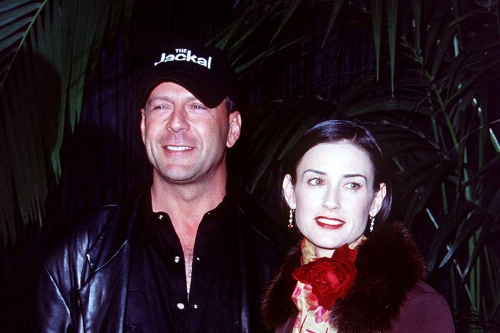Bruce Willis and Demi Moore (Credit: Famous)