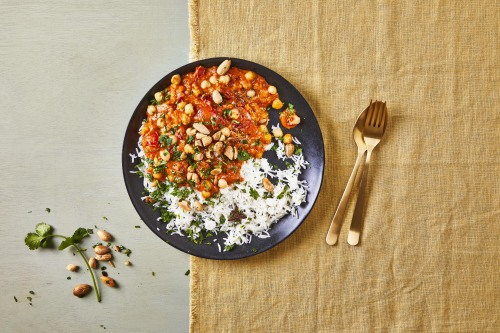 Chickpea tikka masala & fragrant rice