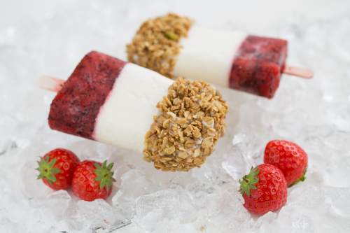 Vegan Breakfast Lollies
