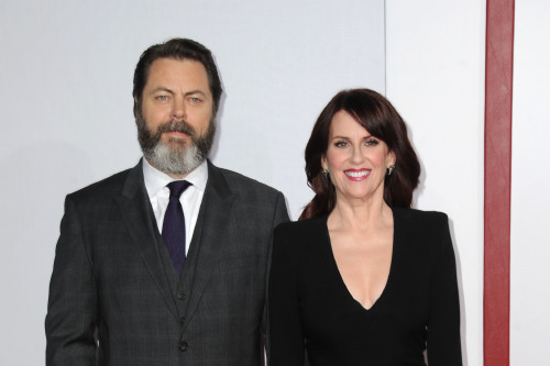 Megan Mullally and Nick Offerman (Credit: Famous)