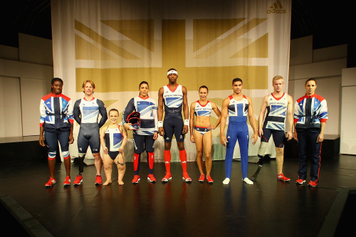 Team GB hopefuls in their kit
