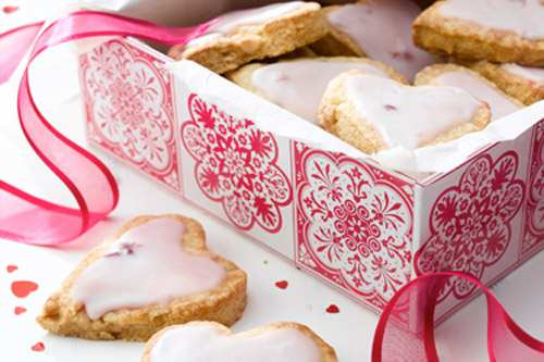 Save money and bake some heart shaped cookies at home