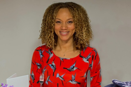 angela griffin dog