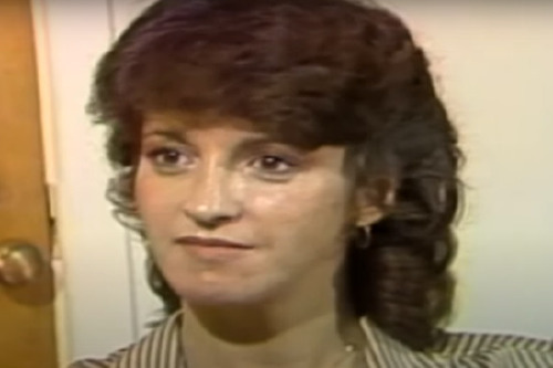 Susan Atkins in a prison interview / Picture Credit: NBCLA on YouTube