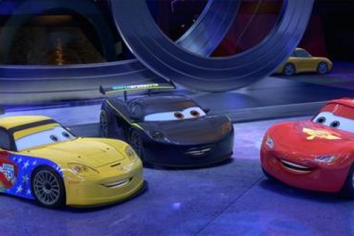 First Look At Lewis Hamilton In Cars 2