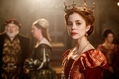 Charlotte Hope as Catherine of Aragon in The Spanish Princess / Picture Credit: Starz