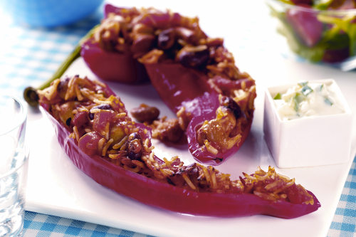 Healthy Recipes: Chilli Stuffed Peppers
