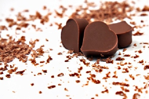 Vegan Chocolate Love Heart