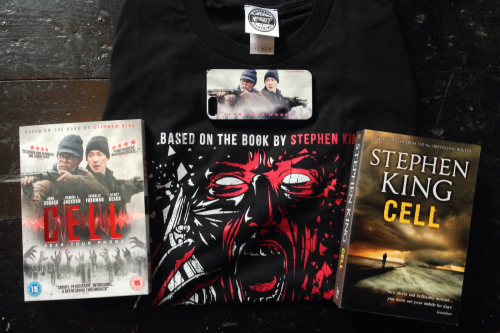 Limited merch bundle with Stephen King's Cell