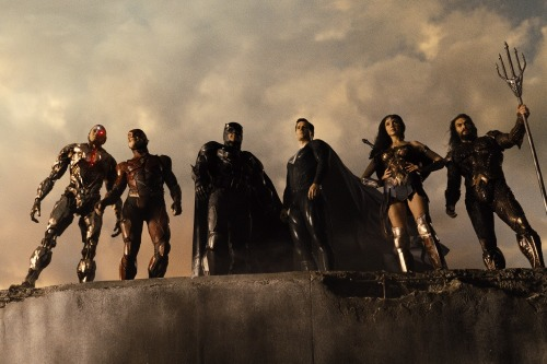 """cyborg the flash batman superman wonder woman and aquaman in zack snyders justice league - Reseña de la """"Liga de la Justicia de Zack Snyder"""""""