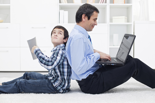 Parenting News: Most Dads Admit to Using Google to Help Kids with Homework