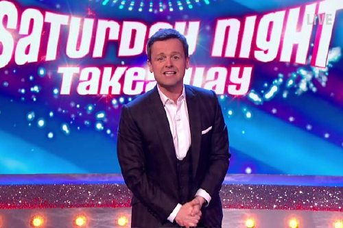Dec went solo on Saturday Night Takeaway