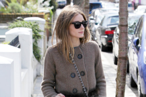 Spotted: Olivia Palermo in Butterfly Twists