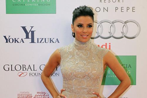 Eva Longoria Dazzles In Reem Acra