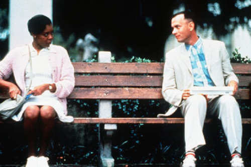 an analysis of the character of forrest gump in winston groom Adapted from the novel by winston groom, forrest gump was written by eric roth and  forrest gump is in fact an everyman forrest meets presidents kennedy,.