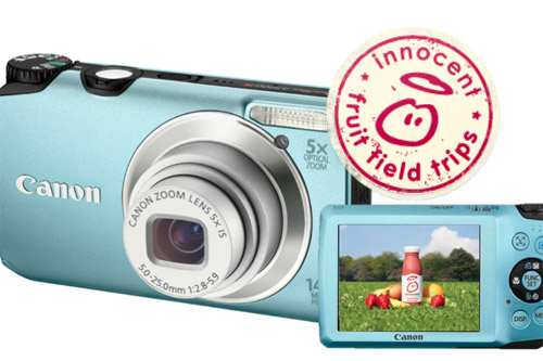 Win A Canon Digital Camera with innocent Fruit Field Trips