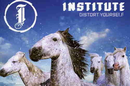 institute distort yourself album review. Black Bedroom Furniture Sets. Home Design Ideas