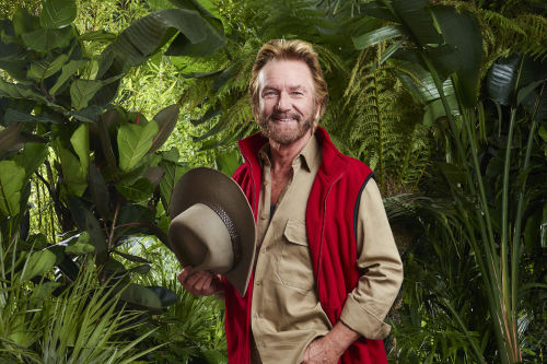 Noel Edmonds on I'm a Celebrity / Photo Credit: ITV Pictures