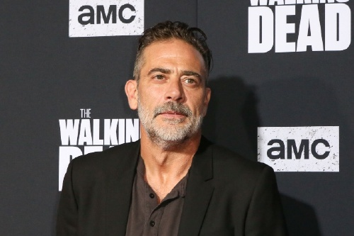 Jeffrey Dean Morgan at TWD's S10 premiere in LA, 2019