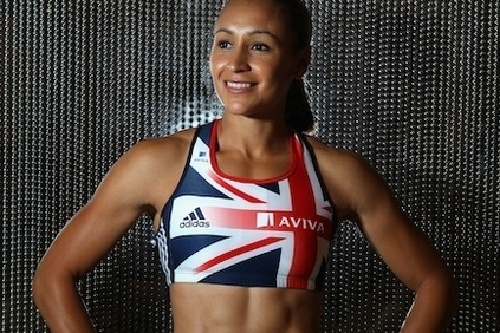 Jessica Ennis Works With Kids