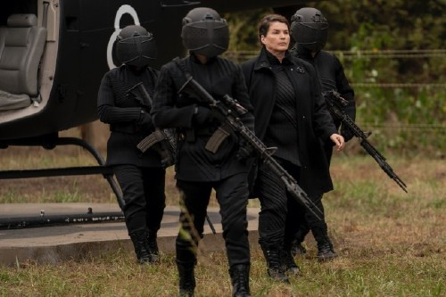 Julia Ormond stars in The Walking Dead: World Beyond / Picture Credit: AMC