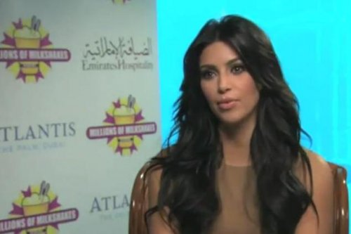 Kim Kardashian talks about Dubai and Victoria Beckham