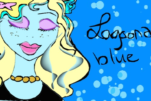 Monster High Makeover Lagoona Blue  Look