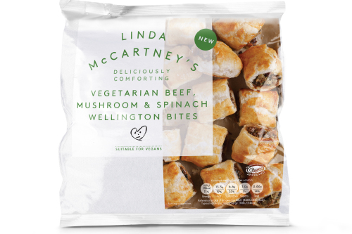 Linda McCartney's Vegetarian Beef, Mushroom And Spinach Wellington Bites