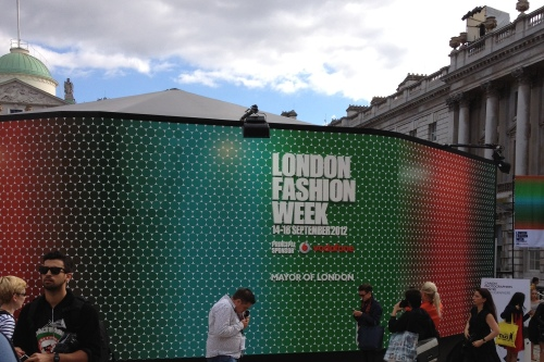 London Fashion Week Somerset House
