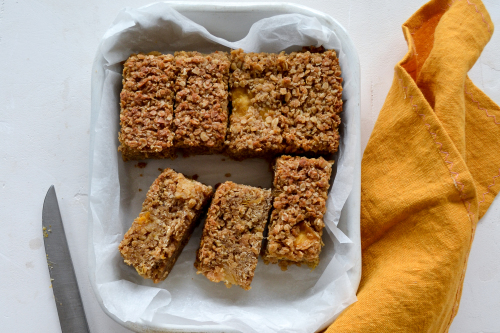 Vegan Mango And Pineapple Lunch Box Bars