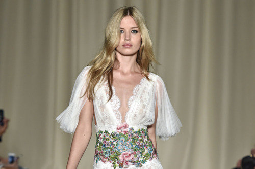 Marchesa SS15: The stylish 10th anniversary celebration