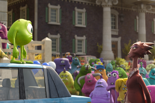 Monsters University Clip 5