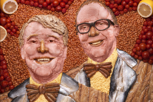 Morecambe and Wise Immortalised In Food