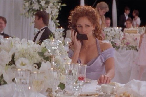 Film Inspired Bridesmaid Dresses My Best Friend S Wedding