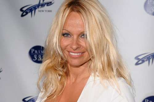 Pamela anderson peta ad banned with