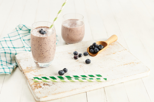 Blueberry & Almond Butter Smoothie Recipe