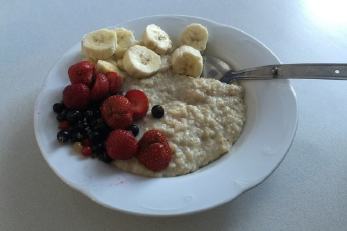Porridge is a natural source of vitamins and minerals