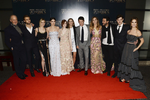 Pride And Prejudice And Zombies UK Premiere