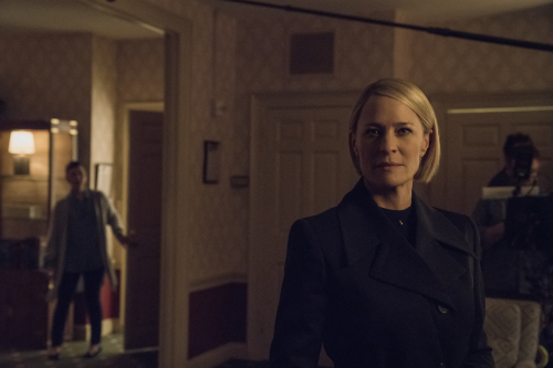 Robin Wright stars as President Claire Underwood in House of Cards / Photo Credit: Netflix