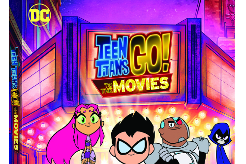 Win the hilarious 'TEEN TITANS GO! TO THE MOVIES' on DVD